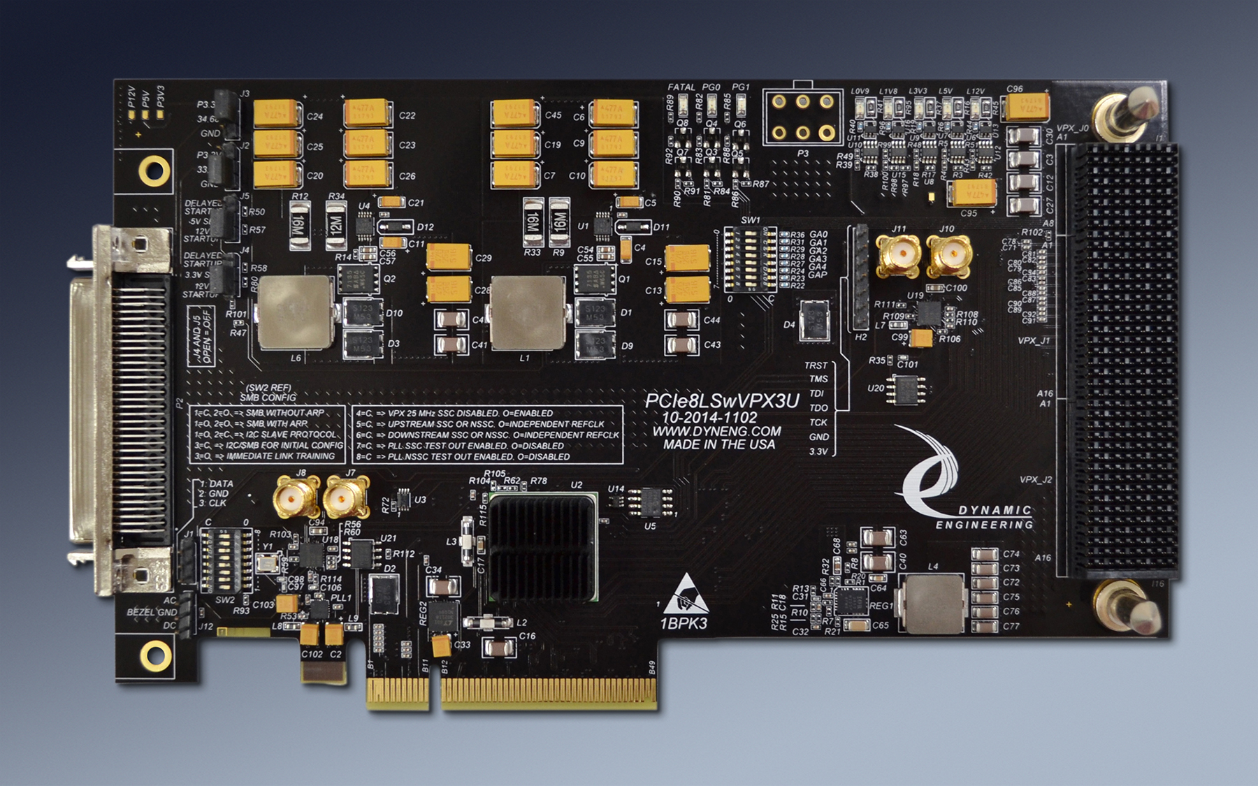 Pcie Vpx Adapter Pcie Vpx Carrier Pci Express Adapter